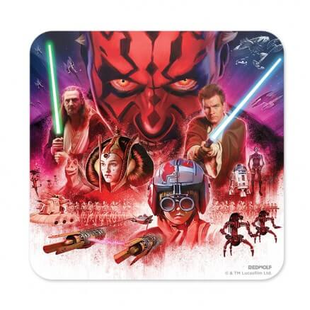 The Phantom Menace - Star Wars Official Coaster