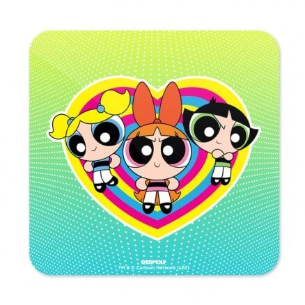 The Powerpuff Girls: Classic - The Powerpuff Girls Official Coaster