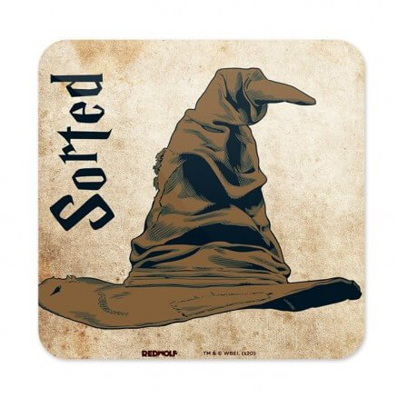 The Sorting Hat - Harry Potter Official Coaster
