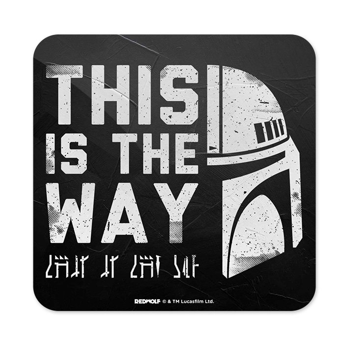 This Is The Way - Star Wars Official Coaster