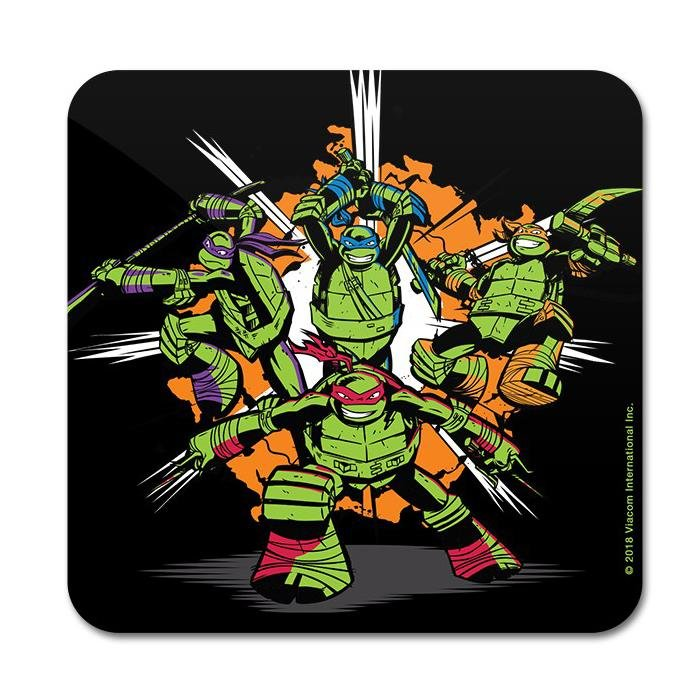 Go Ninja - TMNT Official Coaster