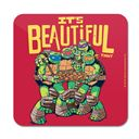 Pizza Is Beautiful - TMNT Official Coaster