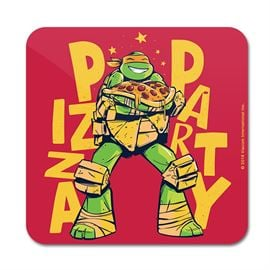 Pizza Party - TMNT Official Coaster