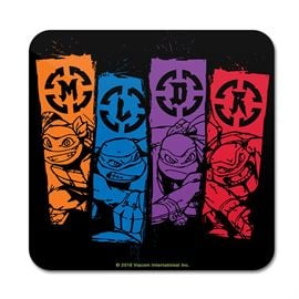 Turtle Banners - TMNT Official Coaster