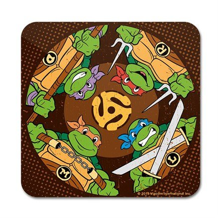 Turtle Tough - TMNT Official Coaster