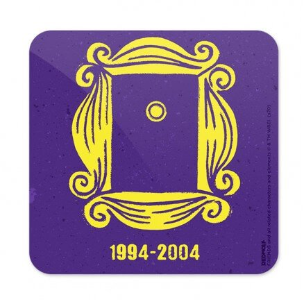 Yellow Frame - Friends Official Coaster