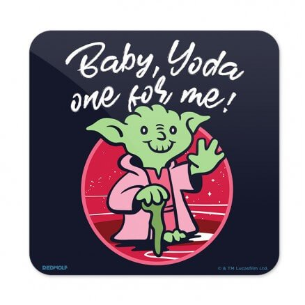Yoda One For Me - Star Wars Official Coaster