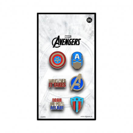 Captain America - Marvel Official Pin Set