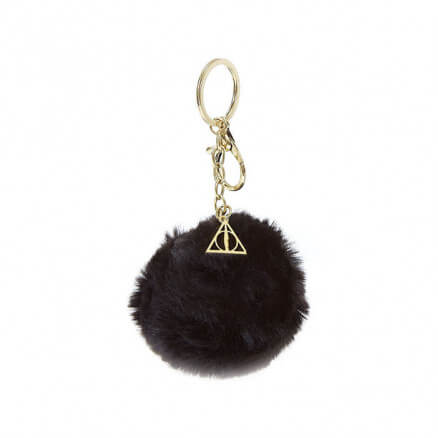 Deathly Hallows Pom Pom - Harry Potter Official Keychain