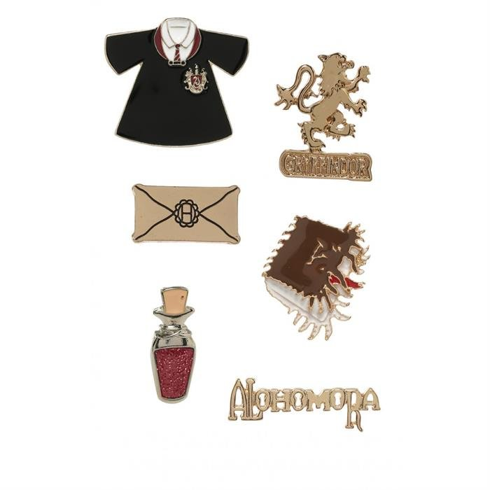 Gryffindor Alohomora - Harry Potter Official Pin Set