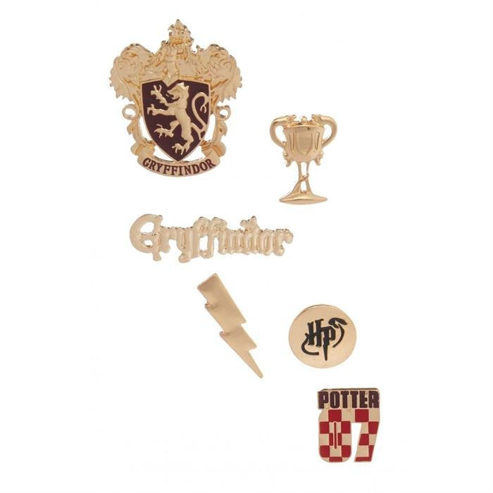 Gryffindor - Harry Potter Official Pin Set