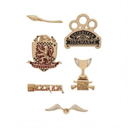 Gryffindor Seeker - Harry Potter Official Pin Set