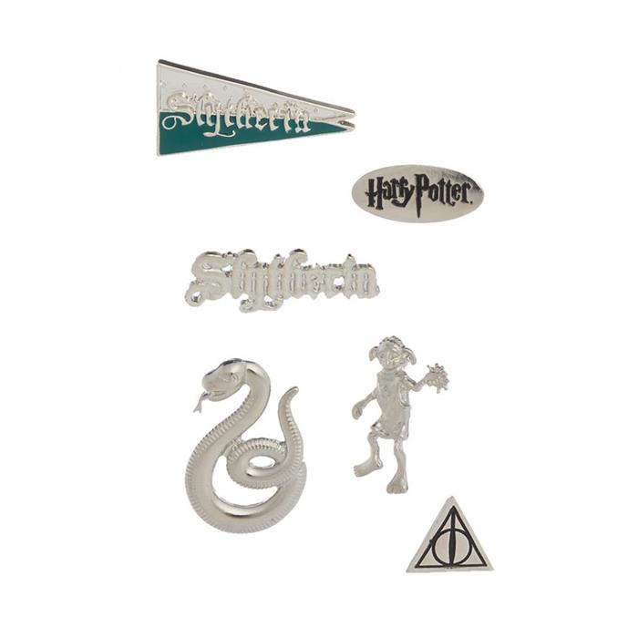 Slytherin - Harry Potter Official Pin Set