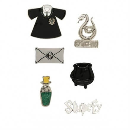 Slytherin Stupefy - Harry Potter Official Pin Set