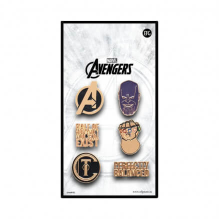 The Mad Titan - Marvel Official Pin Set