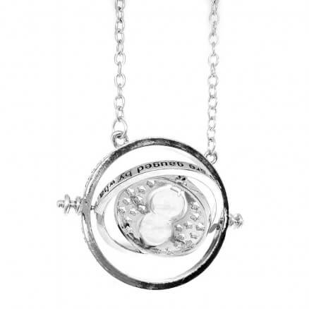 Time Turner (Silver) - Harry Potter Official Necklace