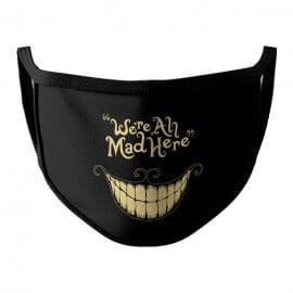 Cheshire Cat: We're All Mad Here - Face Mask