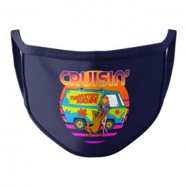 Cruisin - Scooby Doo Official Face Mask