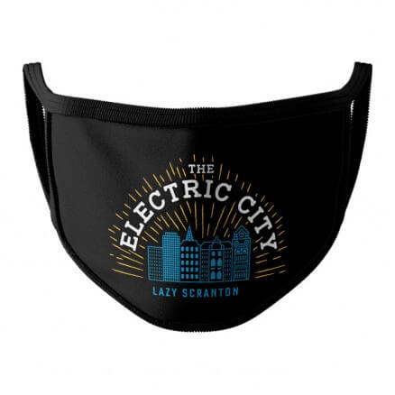 The Electric City - Face Mask