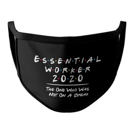 Essential Worker 2020 - Face Mask