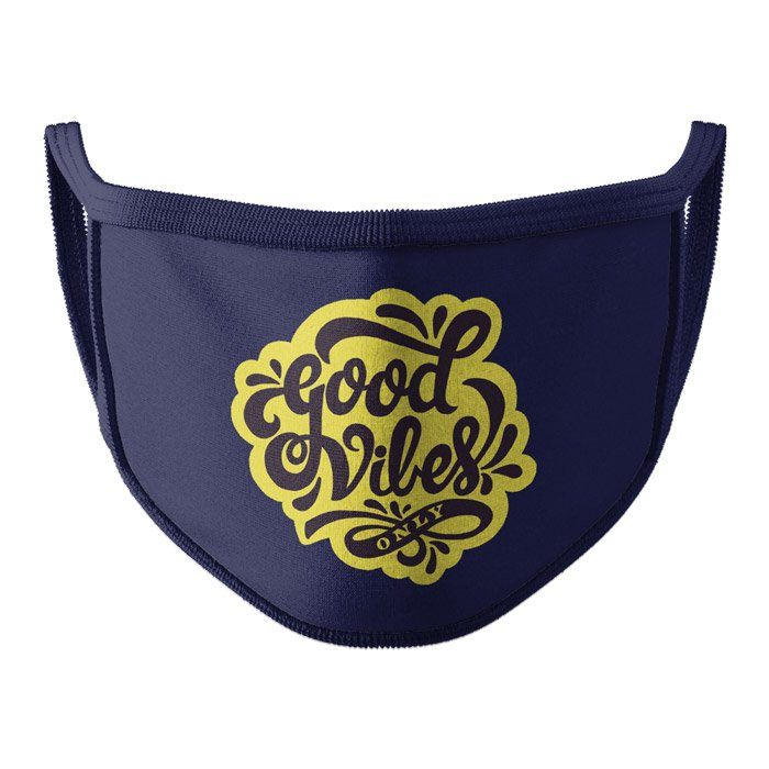 Good Vibes Only - Face Mask