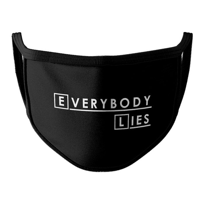 House: Everybody Lies - Face Mask