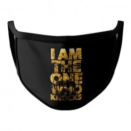 I Am The One Who Knocks - Face Mask