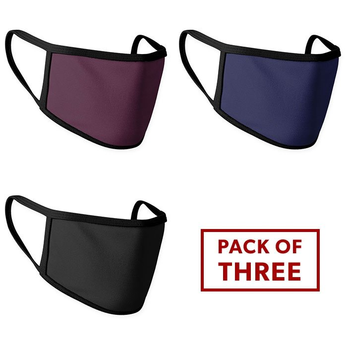 Face Mask - Pack of 3