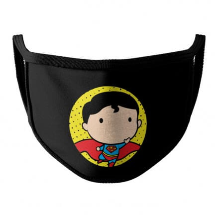 Superman Chibi - Superman Official Face Mask