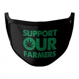 Support Our Farmers - Face Mask