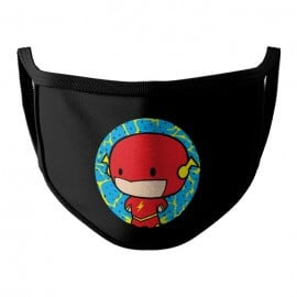 The Flash Chibi - The Flash Official Face Mask