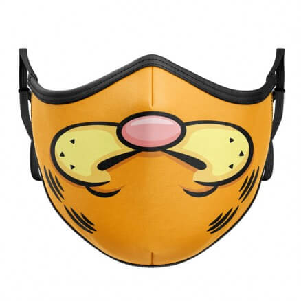 The Tabby Cat: Face - Premium Mask