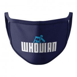 Whovian - Face Mask