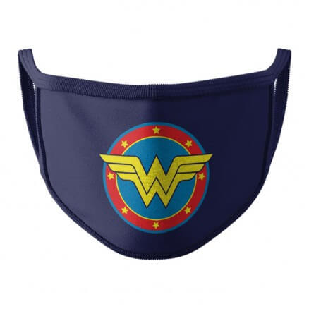 Wonder Woman: Logo - Wonder Woman Official Face Mask
