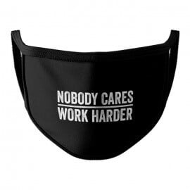Work Harder - Face Mask
