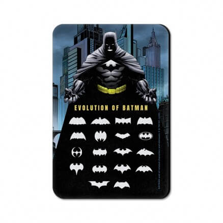 Batman: Logo Evolution - Batman Official Fridge Magnet