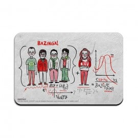 Bazinga Formula - The Big Bang Theory Official Fridge Magnet