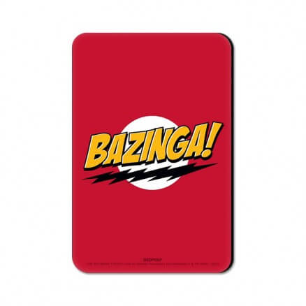 Bazinga! - The Big Bang Theory Official Fridge Magnet