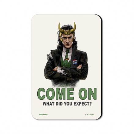 Loki: Come On - Marvel Official Fridge Magnet