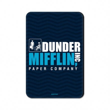 Dunder Mifflin: Logo - Fridge Magnet