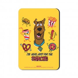 For The Snacks - Scooby Doo Official Fridge Magnet