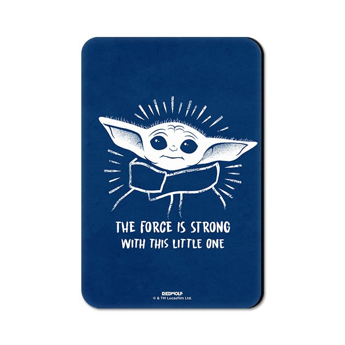 Force Is Strong - Star Wars Official Fridge Magnet