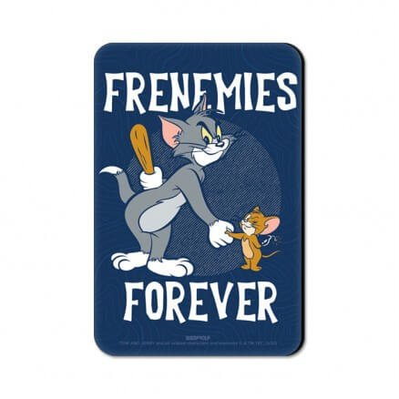 Frenemies Forever - Tom & Jerry Official Fridge Magnet