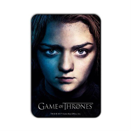 Arya Stark - Game Of Thrones Official Fridge Magnet