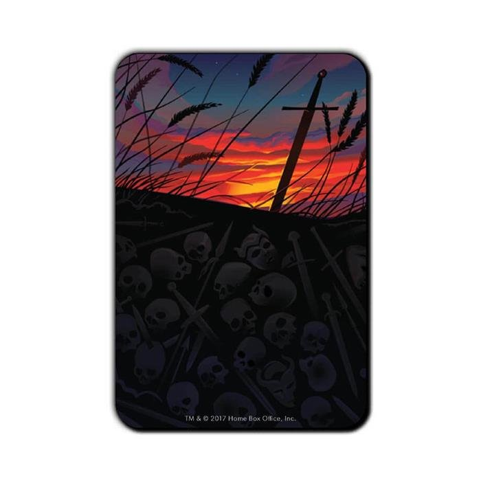 All Cannot Die In Glory: Beautiful Death - Game Of Thrones Official Fridge Magnet