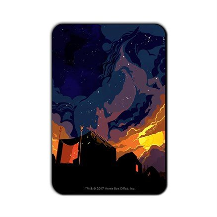 Come Back to Me My Sun And Stars: Beautiful Death - Game Of Thrones Official Fridge Magnet