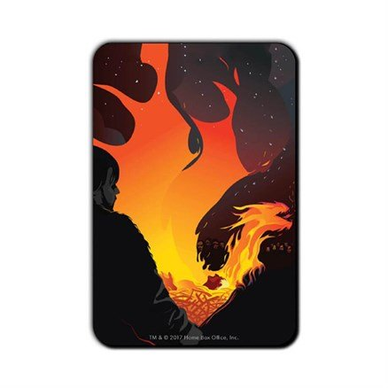 His Fire Has Gone Out: Beautiful Death - Game Of Thrones Official Fridge Magnet
