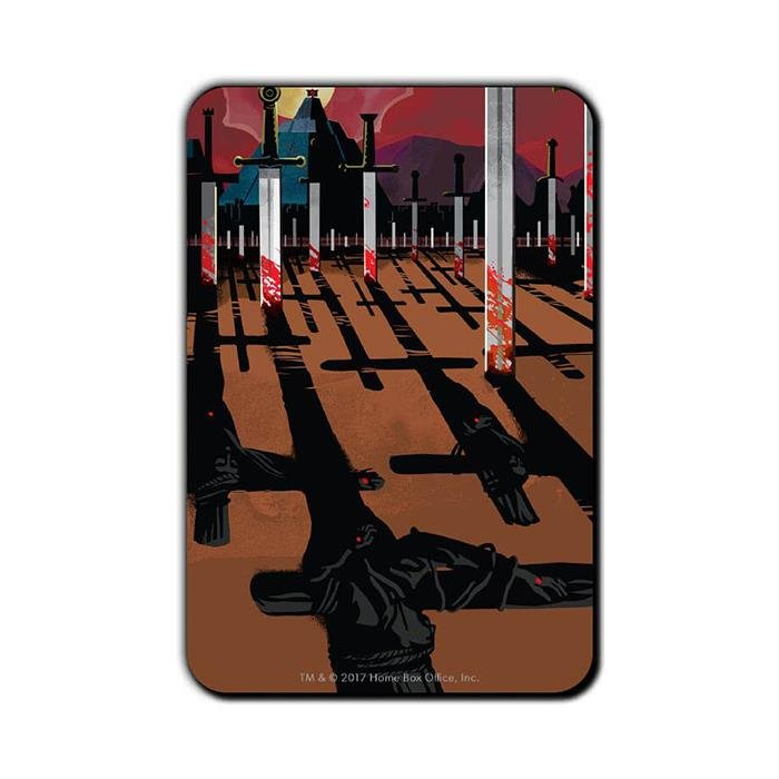 Kill The Masters: Beautiful Death - Game Of Thrones Official Fridge Magnet