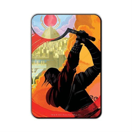 Let Me Kill This Man For You: Beautiful Death - Game Of Thrones Official Fridge Magnet
