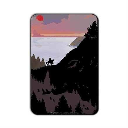 Murdered By A Pig: Beautiful Death - Game Of Thrones Official Fridge Magnet